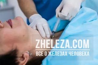 Анэхогенное образование в щитовидной железе