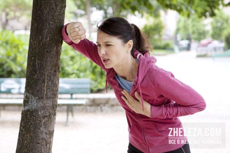 Боль в груди и головокружение при ходьбе