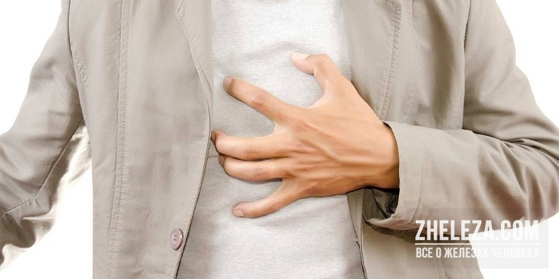 Боли в груди и спине