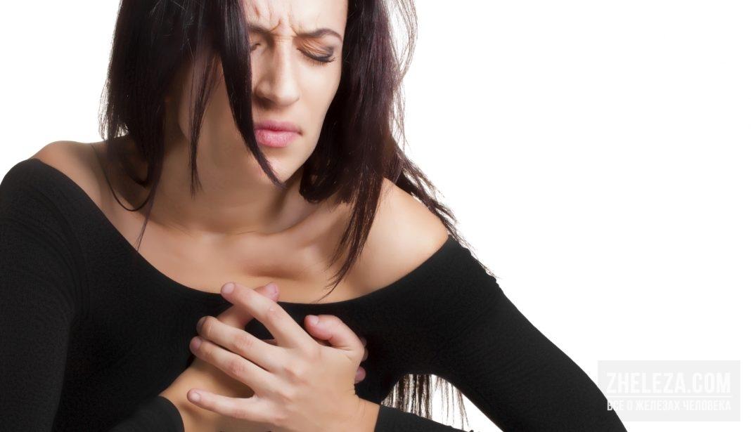 Боли в груди после испуга
