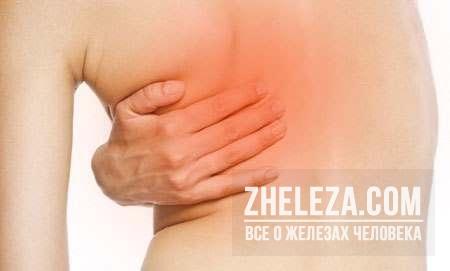 Болит левая грудь
