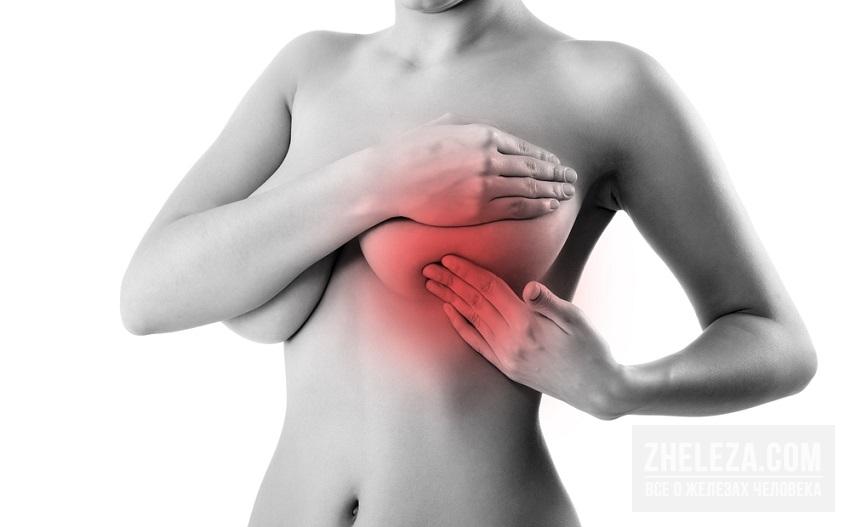 Болит правая молочная железа